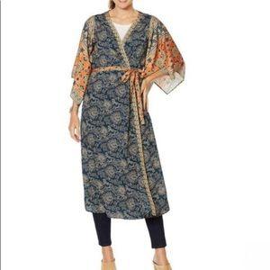 Sheryl Crow Boho duster kimono Sz 1X